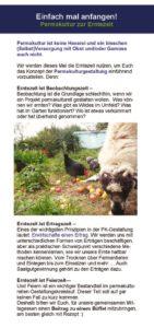 thumbnail of Einleger Permakultur